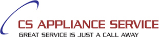 CS APPLIANCE SERVICE Logo