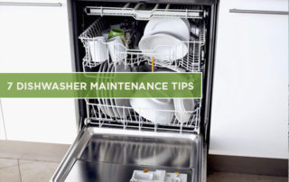 7 Dishwasher Maintenance Tips
