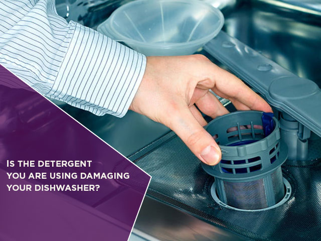 Is the Detergent You are Using Damaging Your Dishwasher?