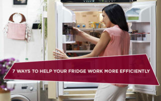 7 Ways To Help Your Fridge Work More Efficiently