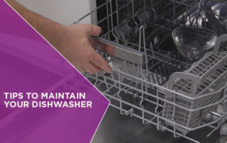 Tips to Maintain Your Dishwasher