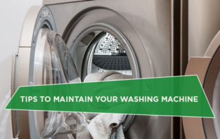 Tips to Maintain Your Washing Machine
