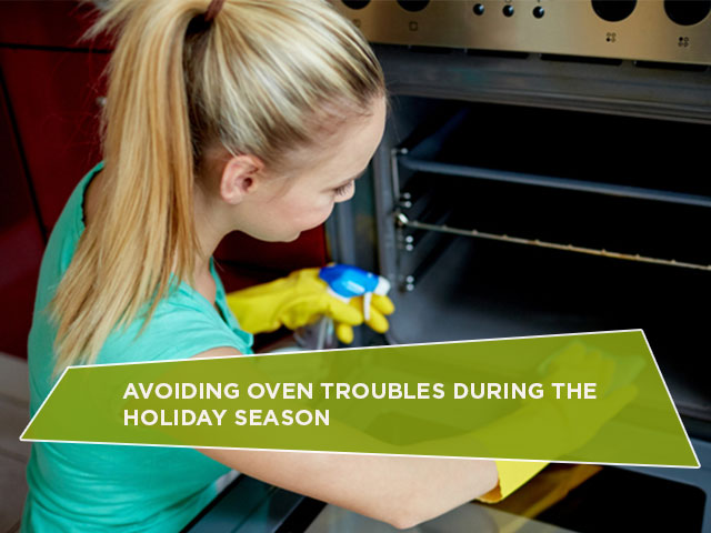 Avoiding Oven Troubles During the Holiday Season