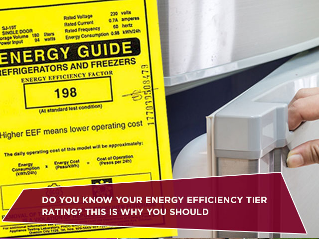 Do You Know Your Energy Efficiency Tier Rating? This Is Why You Should
