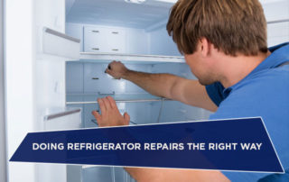 Doing Refrigerator Repairs the Right Way