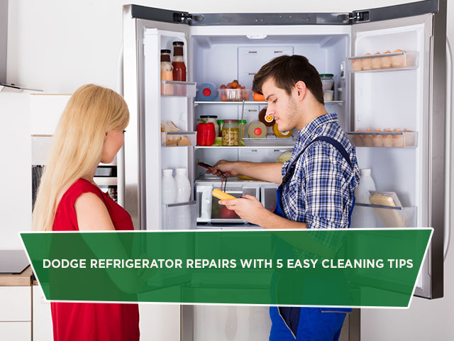 Dodge Refrigerator Repairs with 5 Easy Cleaning Tips