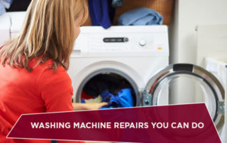 Washing Machine Repairs You Can Do