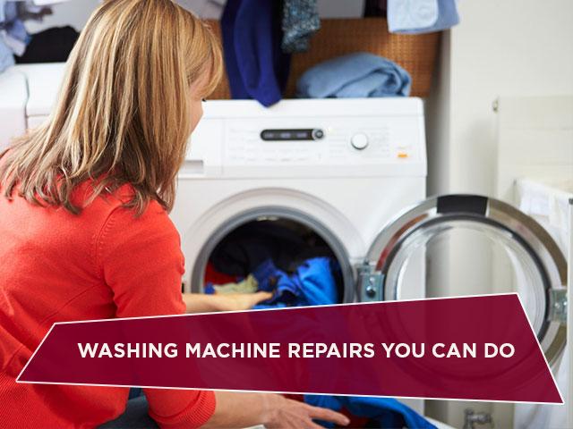 Washing Machine Repairs You Can Do