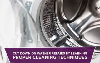 Cut Down On Washer Repairs By Learning Proper Cleaning Techniques