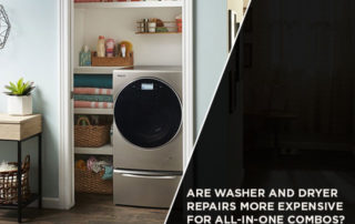 Are Washer And Dryer Repairs More Expensive For All-In-One Combos?