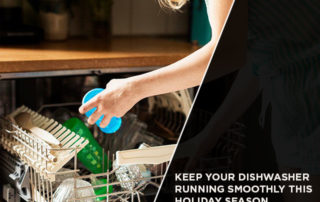 Keep Your Dishwasher Running Smoothly This Holiday Season