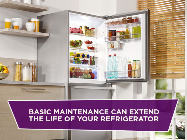 Basic Maintenance Can Extend the Life of Your Refrigerator