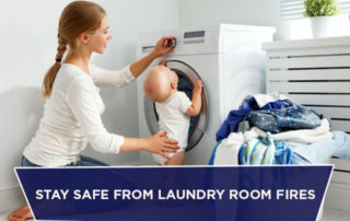 Stay Safe From Laundry Room Fires